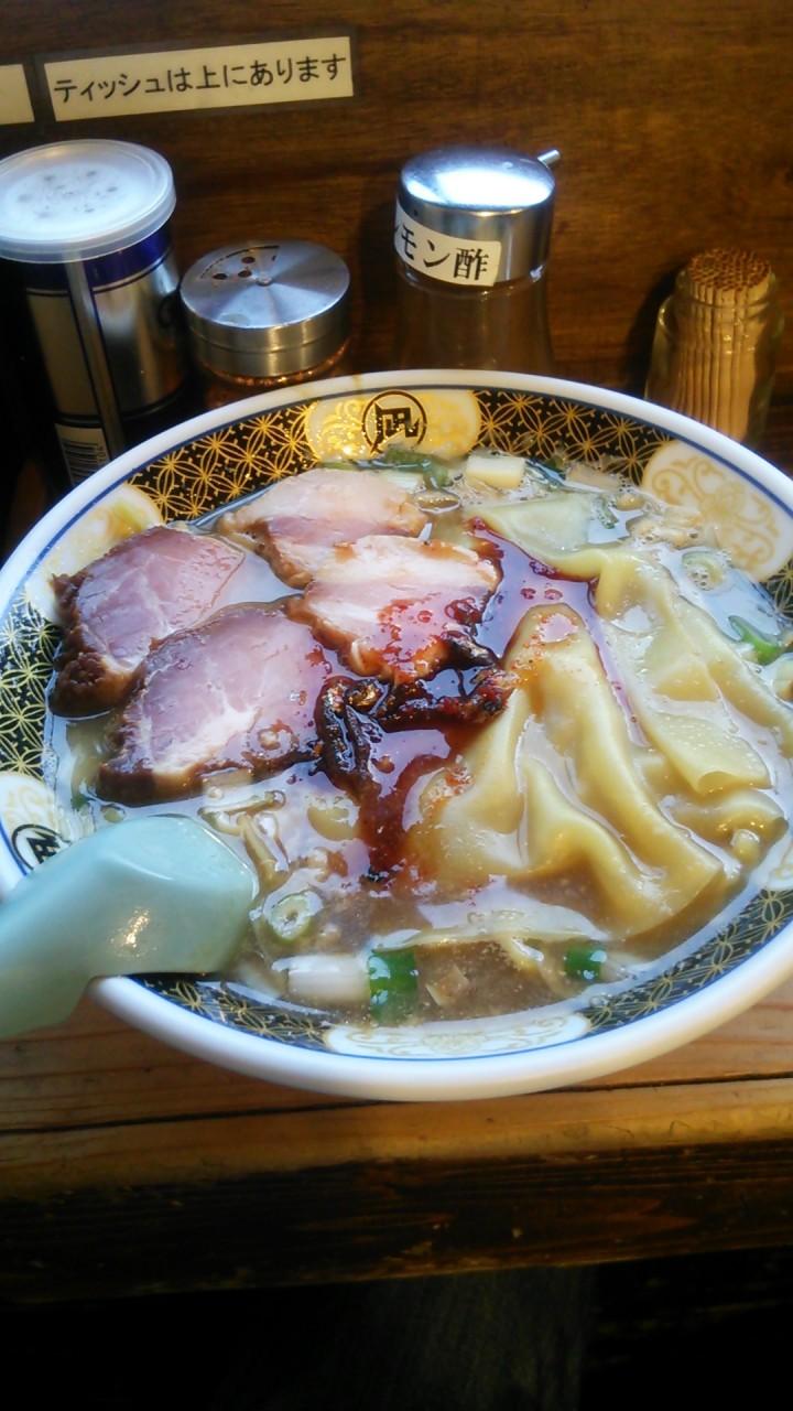 日々是拉麺 Day1 すごい煮干ラーメン凪 新宿ゴールデン街店 本館