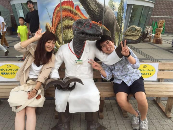 福井の隠れ名所。恐竜博物館!
