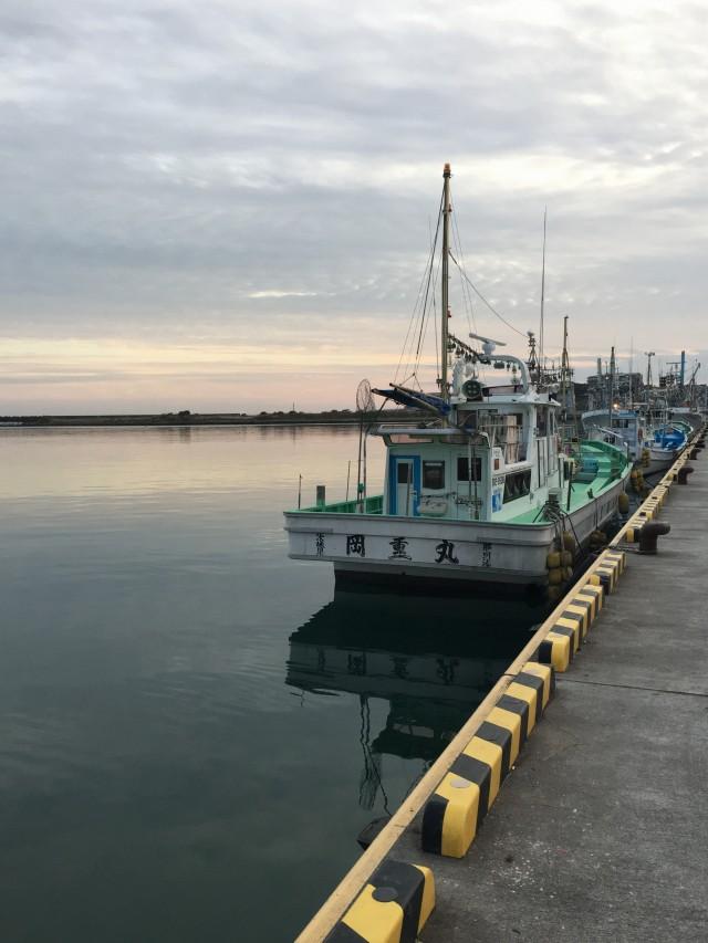 こちらは茨城県ひたちなか市の那珂岬。 休日を利用して、魚介を食べにいくのもオススメ。