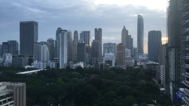 Sight from Thai office