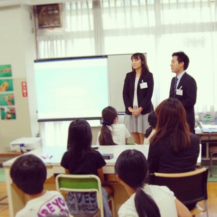 エン社員が小学校の先生に!キャリア教育プログラム