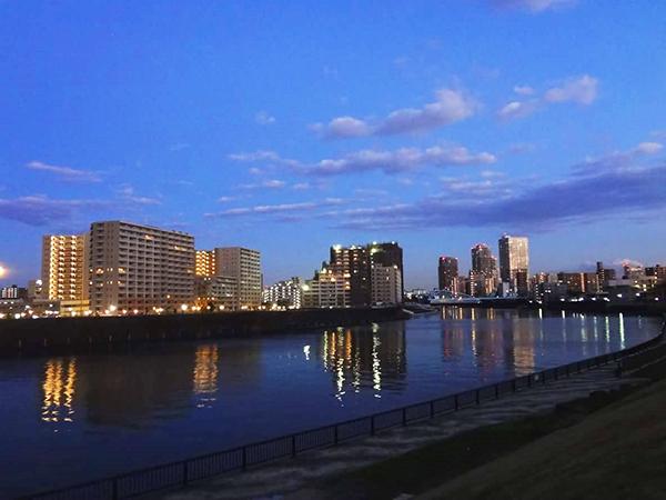 隅田川(千住大橋)