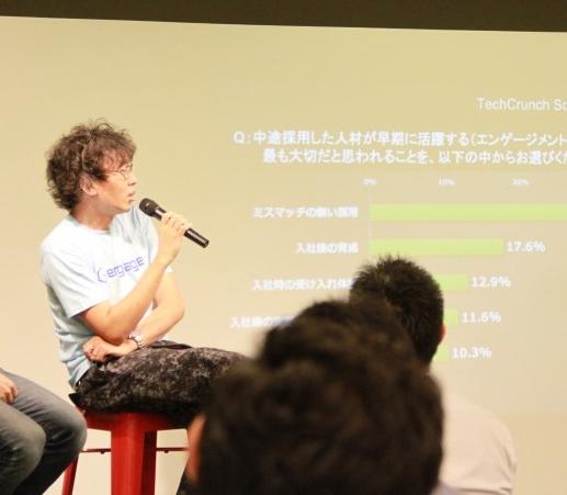 TechCrunchのイベントに潜入しちゃいました。#週末のエン