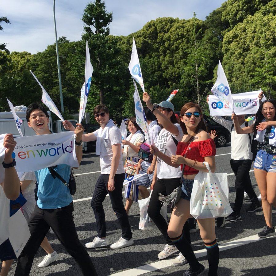 エンワールド・ジャパンが「Tokyo Rainbow Pride 2018」に参加したよ!の話。#きょうのエン