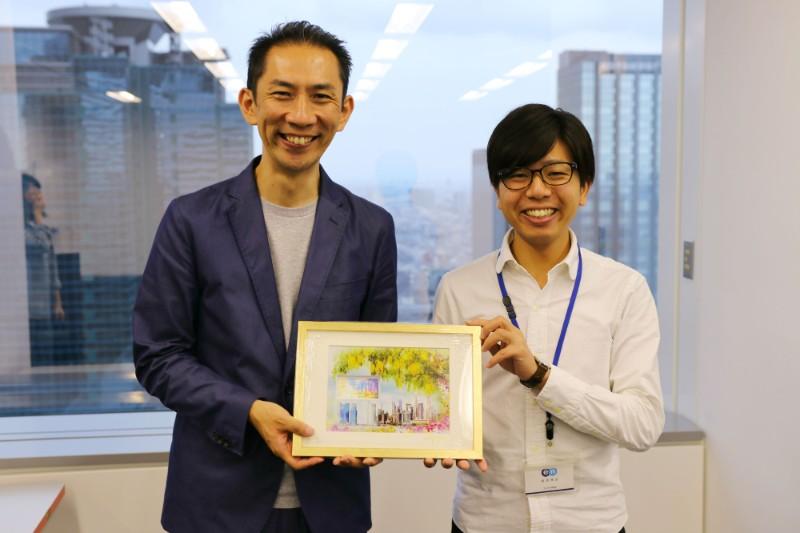 シンガポール使節団、来日!不満買取センターが講演を行ないました。 #きょうのエン
