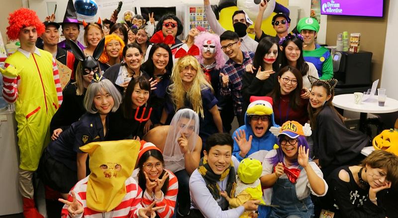 EXCITING!エンワールド・ジャパンのハロウィンパーティー! #きょうのエン