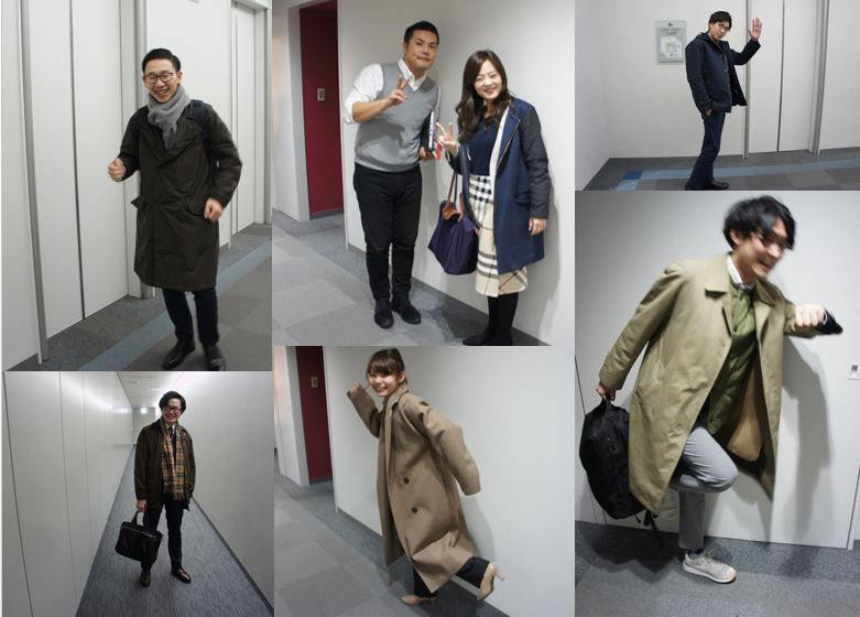 おしえて!みんなの出勤スタイル~2019冬~ #大阪