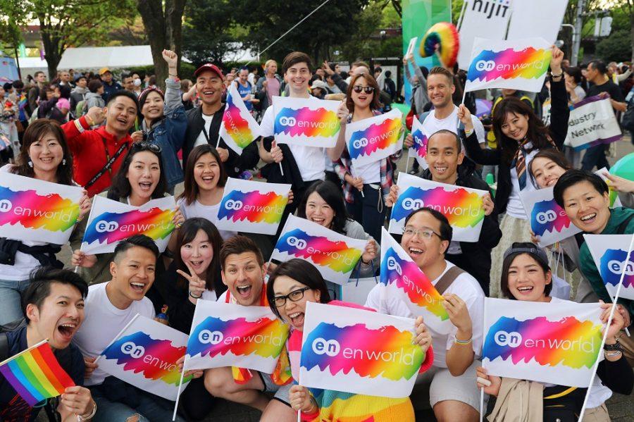 エングループで「Tokyo Rainbow Pride 2019」に参加しました!#きょうのエン