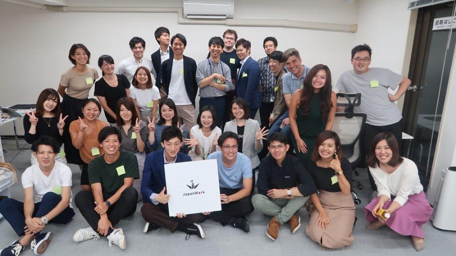 みんな気になるグループ会社『JapanWork』の移転パーティに参加したよ! #きょうのエン