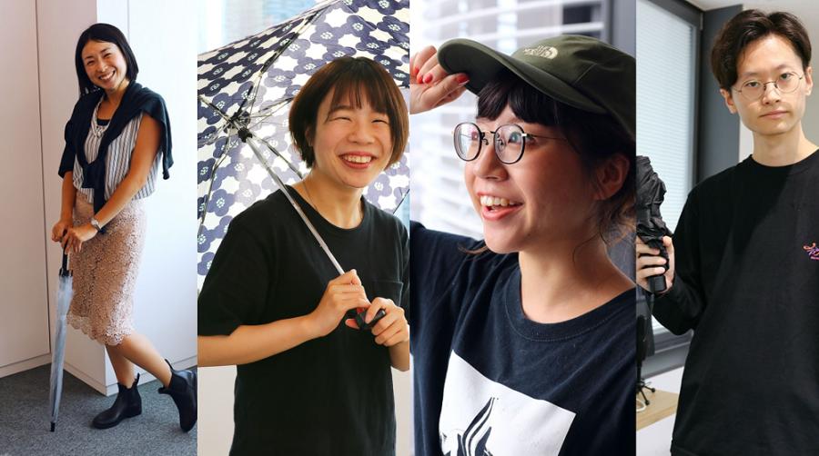傘だけじゃない!エン・ジャパン社員の雨の日グッズ! #きょうのエン