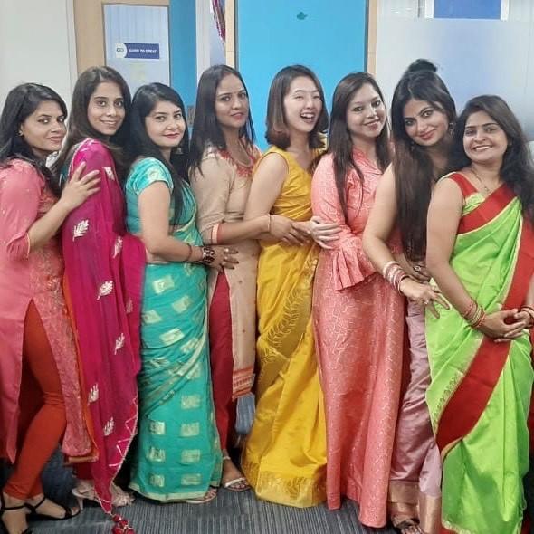 Happy Diwali!! #インドからナマステ
